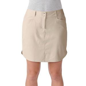 NWT Adidas Womens Essentials 3 Stripe Golf Skort 6